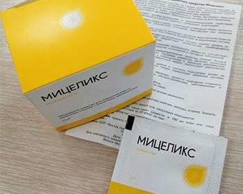 Упаковка и инструкция к Мицеликс